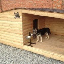 Diy Dog Houses 45 214x214 - 40+ DIY Dog House Ideas Your Dog Will Absolutely Love