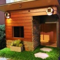 Diy Dog Houses 46 214x214 - 40+ DIY Dog House Ideas Your Dog Will Absolutely Love