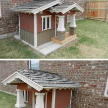 Diy Dog Houses 47 214x214 - 40+ DIY Dog House Ideas Your Dog Will Absolutely Love