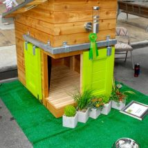 Diy Dog Houses 48 214x214 - 40+ DIY Dog House Ideas Your Dog Will Absolutely Love