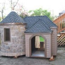 Diy Dog Houses 49 214x214 - 40+ DIY Dog House Ideas Your Dog Will Absolutely Love
