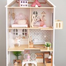 Diy Doll Houses 1 214x214 - 35+ DIY Miniature Doll Houses