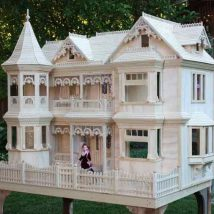 Diy Doll Houses 10 214x214 - 35+ DIY Miniature Doll Houses