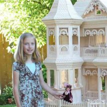 Diy Doll Houses 11 214x214 - 35+ DIY Miniature Doll Houses