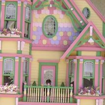 Diy Doll Houses 13 214x214 - 35+ DIY Miniature Doll Houses