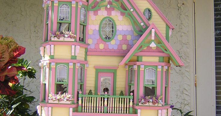 Diy Doll Houses 13 - 35+ DIY Miniature Doll Houses