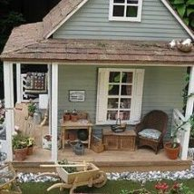 Diy Doll Houses 14 214x214 - 35+ DIY Miniature Doll Houses