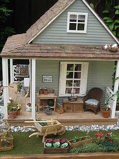 Diy Doll Houses 14 - 35+ DIY Miniature Doll Houses