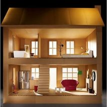 Diy Doll Houses 15 214x214 - 35+ DIY Miniature Doll Houses