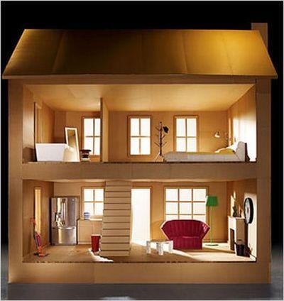 Diy Doll Houses 15 - 35+ DIY Miniature Doll Houses