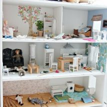Diy Doll Houses 16 214x214 - 35+ DIY Miniature Doll Houses