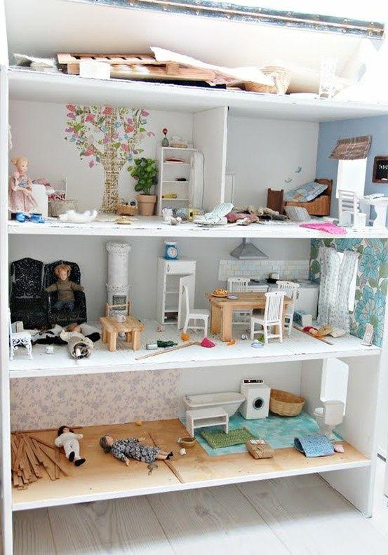 Diy Doll Houses 16 - 35+ DIY Miniature Doll Houses