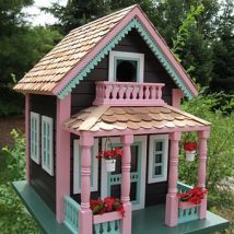 Diy Doll Houses 23 214x214 - 35+ DIY Miniature Doll Houses