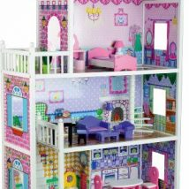 Diy Doll Houses 28 214x214 - 35+ DIY Miniature Doll Houses