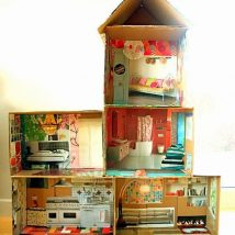 Diy Doll Houses 31 214x214 - 35+ DIY Miniature Doll Houses