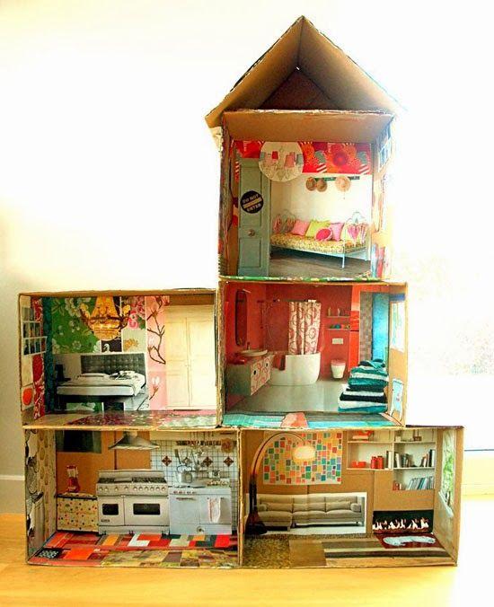 Diy Doll Houses 31 - 35+ DIY Miniature Doll Houses
