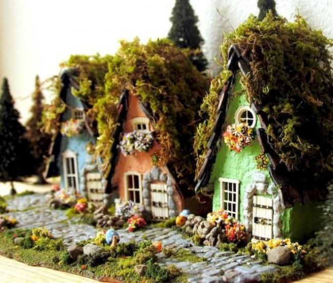 Diy Doll Houses 34 - 35+ DIY Miniature Doll Houses