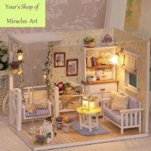 Diy Doll Houses 45 214x214 - 35+ DIY Miniature Doll Houses