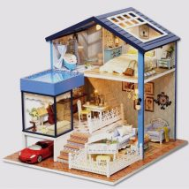 Diy Doll Houses 47 214x214 - 35+ DIY Miniature Doll Houses