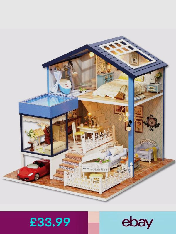 Diy Doll Houses 47 - 35+ DIY Miniature Doll Houses