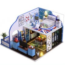 Diy Doll Houses 48 214x214 - 35+ DIY Miniature Doll Houses