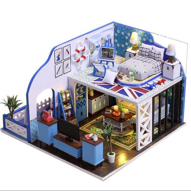Diy Doll Houses 48 - 35+ DIY Miniature Doll Houses