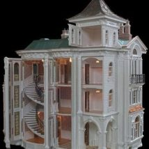 Diy Doll Houses 51 214x214 - 35+ DIY Miniature Doll Houses