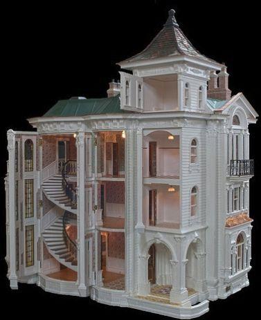 Diy Doll Houses 51 - 35+ DIY Miniature Doll Houses