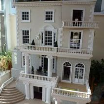 Diy Doll Houses 52 214x214 - 35+ DIY Miniature Doll Houses