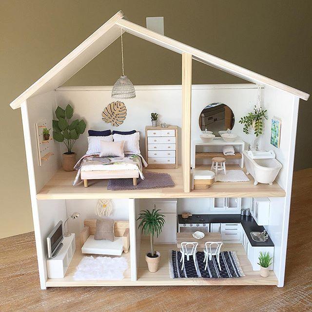 Diy Doll Houses 53 - 35+ DIY Miniature Doll Houses