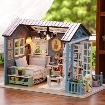 Diy Doll Houses 7 214x214 - 35+ DIY Miniature Doll Houses