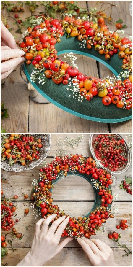 Diy Door Wraths 22 - 40+ Best DIY Fall Wreath Ideas For Your Front Door