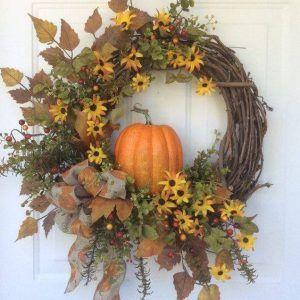 Diy Door Wraths 55 - 40+ Best DIY Fall Wreath Ideas For Your Front Door