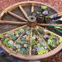 Diy Fairy Gardens 15 214x214 - 50 Magical DIY Fairy Garden Ideas