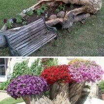 Diy Fairy Gardens 17 214x214 - 50 Magical DIY Fairy Garden Ideas
