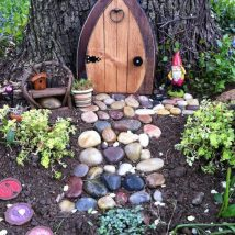Diy Fairy Gardens 2 214x214 - 50 Magical DIY Fairy Garden Ideas