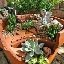 Diy Fairy Gardens 33 214x214 - 50 Magical DIY Fairy Garden Ideas