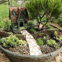 Diy Fairy Gardens 4 214x214 - 50 Magical DIY Fairy Garden Ideas