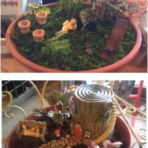 Diy Fairy Gardens 7 214x214 - 50 Magical DIY Fairy Garden Ideas