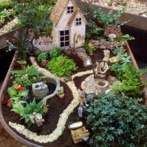 Diy Fairy Gardens 8 214x214 - 50 Magical DIY Fairy Garden Ideas