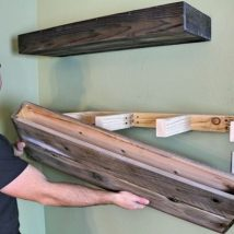Diy Farmhouse Shelves 1 214x214 - Spectacular DIY Farmhouse Shelves