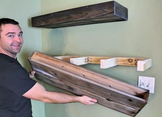 Diy Farmhouse Shelves 1 - Spectacular DIY Farmhouse Shelves
