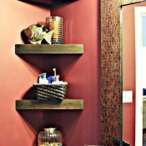 Diy Farmhouse Shelves 10 214x214 - Spectacular DIY Farmhouse Shelves
