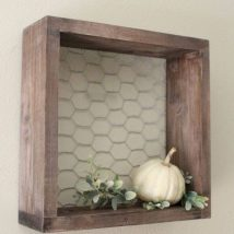 Diy Farmhouse Shelves 12 214x214 - Spectacular DIY Farmhouse Shelves