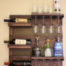 Diy Farmhouse Shelves 19 214x214 - Spectacular DIY Farmhouse Shelves