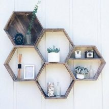 Diy Farmhouse Shelves 21 214x214 - Spectacular DIY Farmhouse Shelves