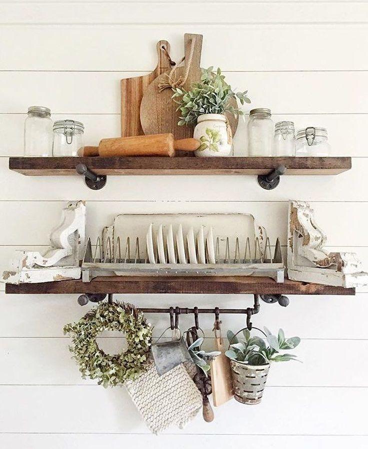 Diy Farmhouse Shelves 31 - Spectacular DIY Farmhouse Shelves