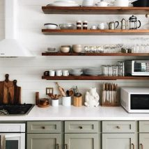 Diy Farmhouse Shelves 33 214x214 - Spectacular DIY Farmhouse Shelves