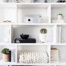 Diy Farmhouse Shelves 35 214x214 - Spectacular DIY Farmhouse Shelves
