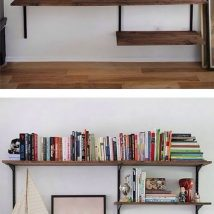 Diy Farmhouse Shelves 38 214x214 - Spectacular DIY Farmhouse Shelves